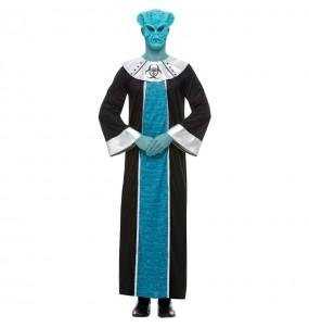 Disfraz de Alien Ashtar para hombre
