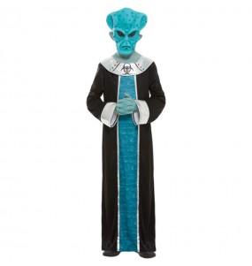 Disfraz de Alien Ashtar para niño