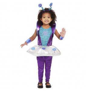 Disfraz de Alienígena espacial para bebé