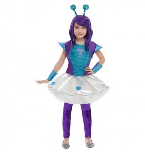 Disfraz de Alienígena espacial para niña