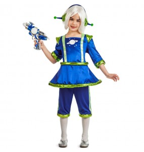 Disfraz de Alienígena para niña