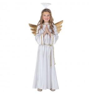 Disfraz de Ángel Navidad con alas para niña