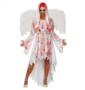 Disfraz de Ángel sangriento para mujer