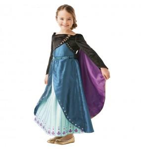 Disfraz de Anna Epilogue Frozen 2 para niña