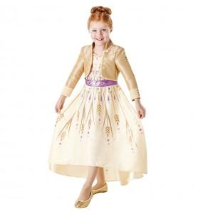 Disfraz de Anna Frozen 2 Prologue para niña