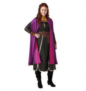 Disfraz de Anna Frozen 2 para mujer