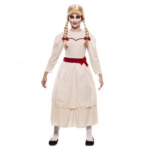 Disfraz de Annabelle Halloween para niña