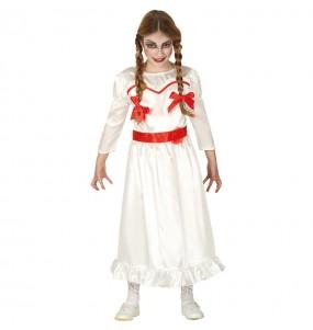 Disfraz de Annabelle para niña