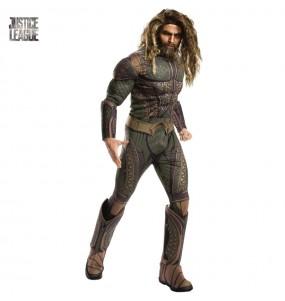 Disfraz de Aquaman Liga de la Justicia adulto