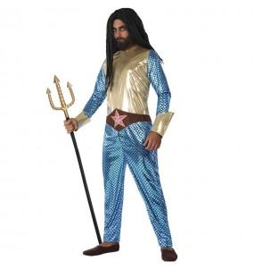Disfraz de Aquaman Superhéroe para hombre