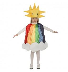 Disfraz de Arco Iris para niños