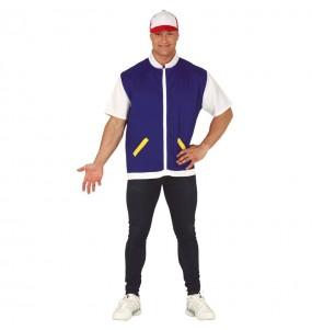 Disfraz de Ash Ketchum Pokémon para adulto