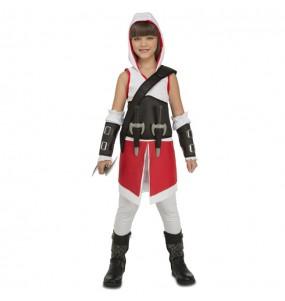 Disfraz de Assassin's Creed Ezio para niña