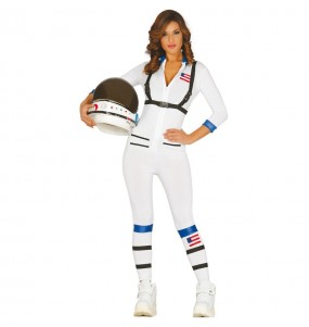 Disfraz de Astronauta Americana para mujer