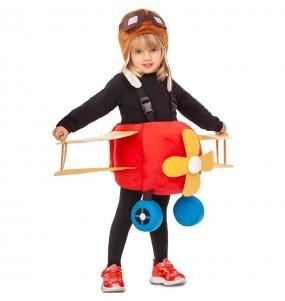 Disfraz de Avión con piloto para niño