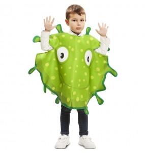 Disfraz de Bacteria Verde para niños