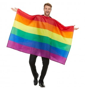 Disfraz de Bandera Orgullo Gay para adulto