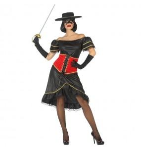 Disfraz de Bandida Enmascarada para mujer