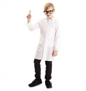 Disfraz de Bata de Científico para niños