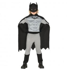 Disfraz de Batman con músculos para niño