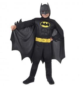 Disfraz de Batman musculoso Classic para niño