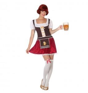 Disfraz de Bávara Alemana Oktoberfest para mujer
