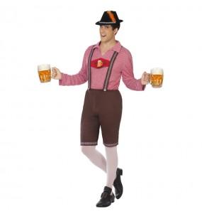 Disfraz de Bávaro Alemán Oktoberfest para hombre
