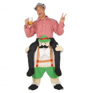 Disfraz de Bávaro Oktoberfest a hombros para adulto