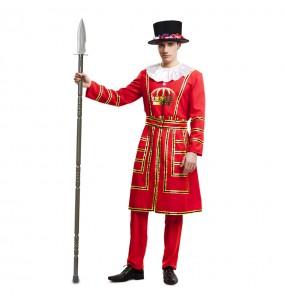 Disfraz de Beefeater Guardia Inglesa adulto