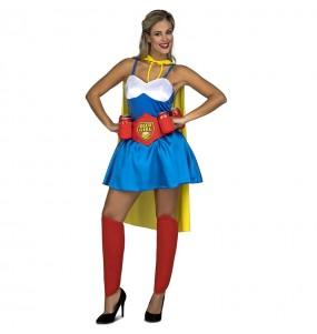 Disfraz de Beerwoman para mujer