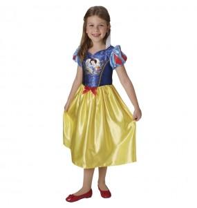 Disfraz de Blancanieves con lentejuelas para niña