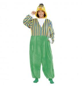 Disfraz de Blas Barrio Sésamo Kigurumi para mujer