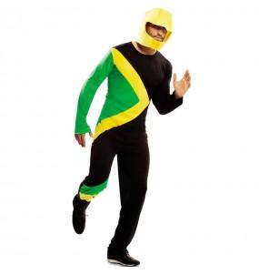 Disfraz de Bobsleigh Jamaicano adulto