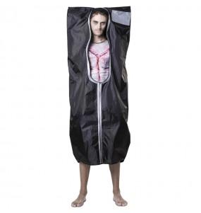 Disfraz de Bolsa Cadáver para adulto