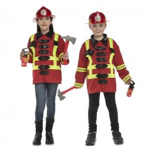 Disfraz de Bombero con accesorios para niños