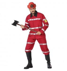 Disfraz de Bombero jefe para hombre