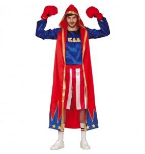 Disfraz de Boxeador estadounidense para hombre