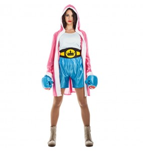 Disfraz de Boxeadora UFC para mujer