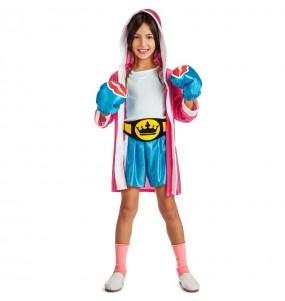 Disfraz de Boxeadora UFC para niña