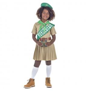 Disfraz de Boy Scout para niña