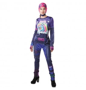 Disfraz de Brite Bomber Fortnite para mujer