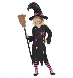 Disfraz de Bruja Candy para niña