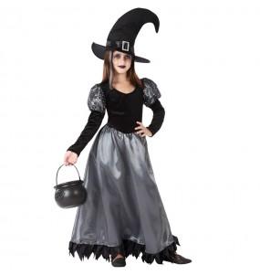 Disfraz de Bruja Encantada para niña