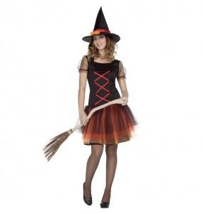 Disfraz de Bruja Fantasía para mujer