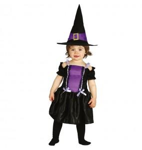 Disfraz de Bruja gótica para bebé