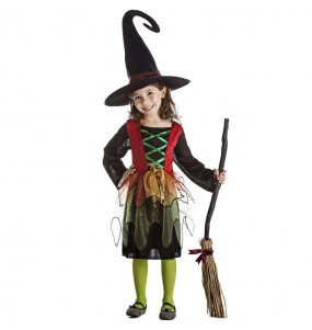Disfraz de Bruja hechicera para niña