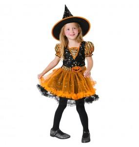Disfraz de Bruja Mágica para niña