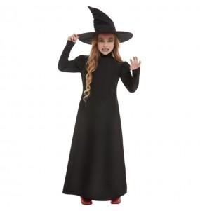 Disfraz de Bruja malvada para niña