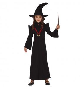Disfraz de Bruja Minerva McGonagall para niña
