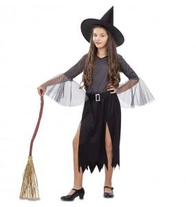 Disfraz de Bruja Plateada para niña